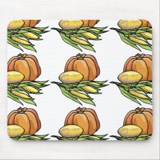 Thanksgiving Pumpkin Mouse Pad