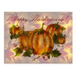 THANKSGIVING PUMPKIN PATCH by SHARON SHARPE Post Cards