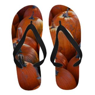 Thanksgiving Pumpkin Patch Sandals