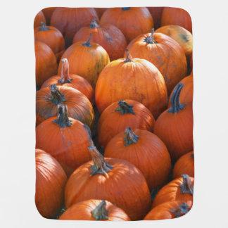 Thanksgiving Pumpkin Patch Swaddle Blanket