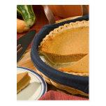Thanksgiving Pumpkin Pie Post Cards