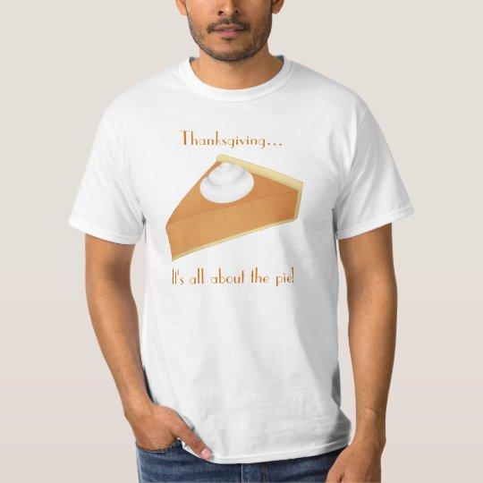 Thanksgiving pumpkin pie T-Shirt