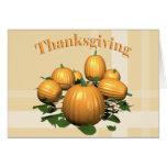 Thanksgiving Pumpkins Card