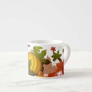 Thanksgiving Pumpkins Espresso Cup