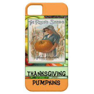 Thanksgiving Pumpkins iPhone 5 Covers