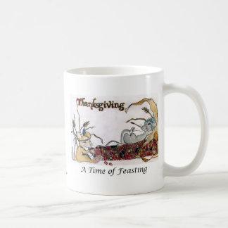 Thanksgiving Rat Feast Coffee Mugs
