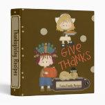 Thanksgiving Recipe Binder