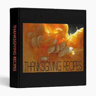 Thanksgiving recipes pumpkin binder