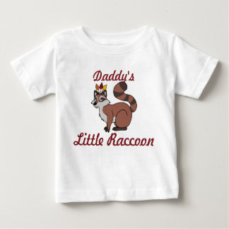 Thanksgiving Red Raccoon with Indian Headdress Baby T-Shirt