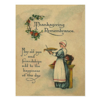 Thanksgiving Remembrance Postcards