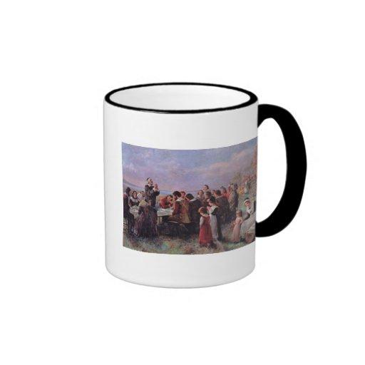 Thanksgiving Ringer Coffee Mug