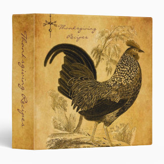 Thanksgiving Rooster Binders