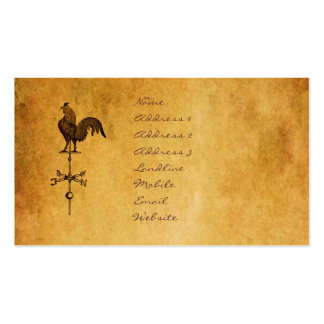 Thanksgiving Rooster Double-Sided Standard Business Cards (Pack Of 100)