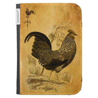 Thanksgiving Rooster Kindle Cases