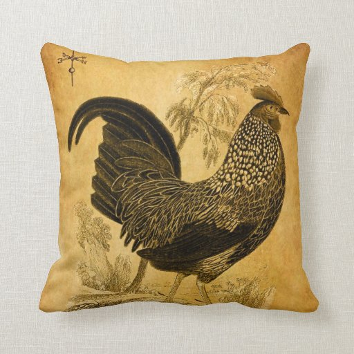 Thanksgiving Rooster Pillow