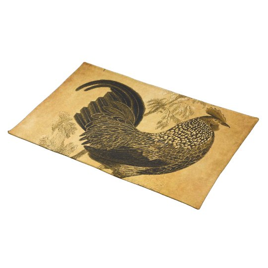 Thanksgiving Rooster Placemat