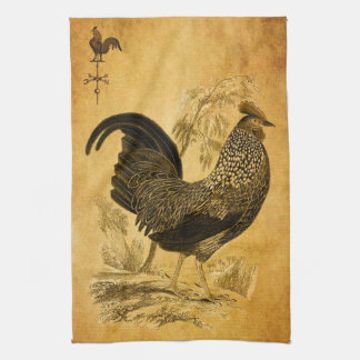 Thanksgiving Rooster Towel