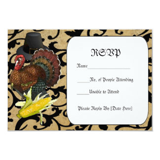 Thanksgiving RSVP Cards