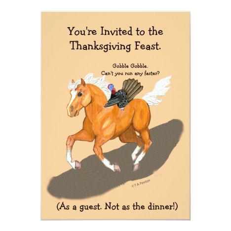 Horse Invitation