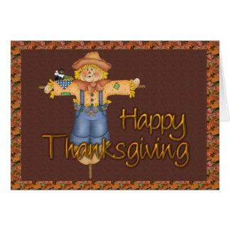 Thanksgiving Scarecrow Cards