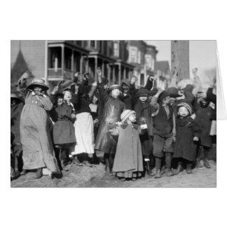 Thanksgiving Scramble, 1915 Card