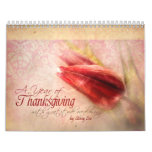 """""""Thanksgiving"""" Scripture Christian Art Calendar"""
