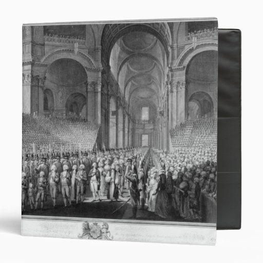 Thanksgiving service in St.Paul's Cathedral Binder