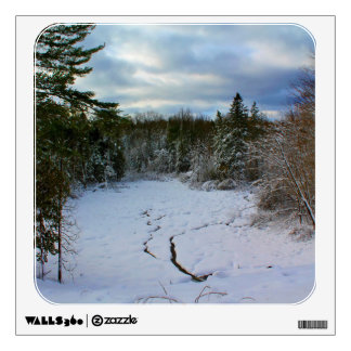 Thanksgiving Snow Scenery Wall Decal