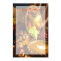 Thanksgiving Stationary - Customizable Stationery