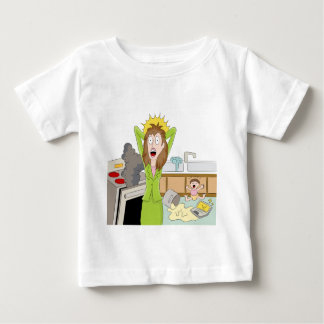 Thanksgiving Stressed Mom Baby T-Shirt