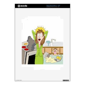Thanksgiving Stressed Mom iPad 2 Skin