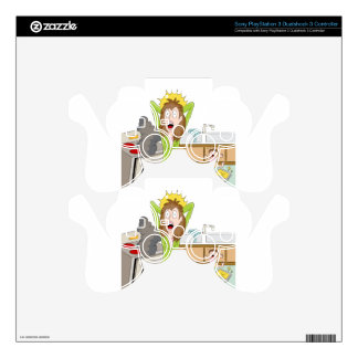 Thanksgiving Stressed Mom PS3 Controller Skins