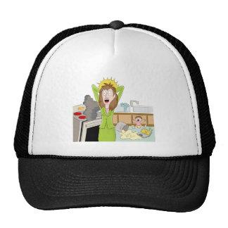 Thanksgiving Stressed Mom Trucker Hat