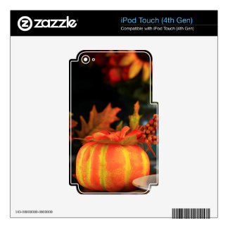 Thanksgiving table decal for iPod touch 4G
