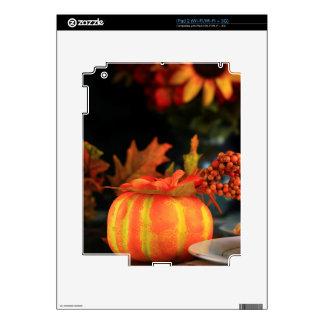 Thanksgiving table iPad 2 skins