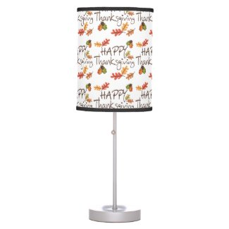 Thanksgiving Table Lamps
