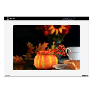 Thanksgiving table skin for laptop
