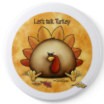 Thanksgiving - Talk Turkey Button