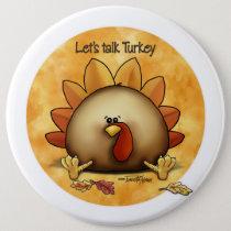 Thanksgiving - Talk Turkey Button