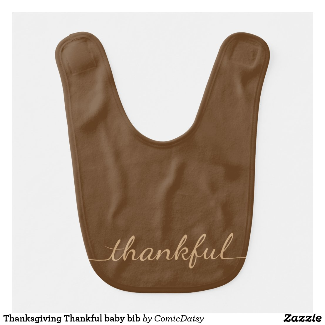 Thanksgiving Thankful baby bib