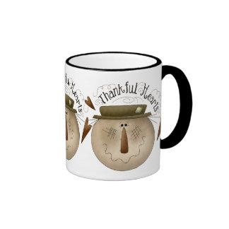Thanksgiving Thankful Hearts Mug