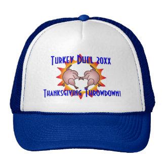 Thanksgiving Throwdown Turkey Duel Commemorative Trucker Hats