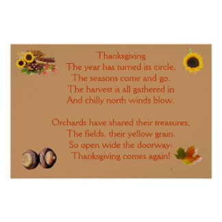 Thanksgiving Time Again Poster