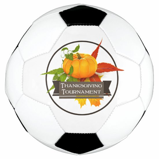 Thanksgiving Tournament - Pumpkins Soccer Ball