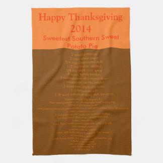Thanksgiving Towel/PIE Hand Towel