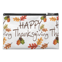 Thanksgiving Travel Accessory Bag