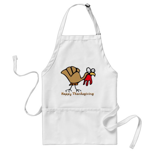 Thanksgiving Turkey Adult Apron