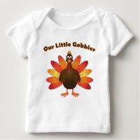Thanksgiving Turkey Baby T-Shirt