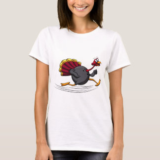 Thanksgiving Turkey Bowling Run T-Shirt