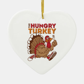 thanksgiving turkey day ceramic ornament